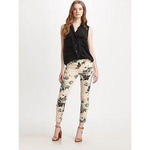 J. Brand Empress Skinny Floral Jeans